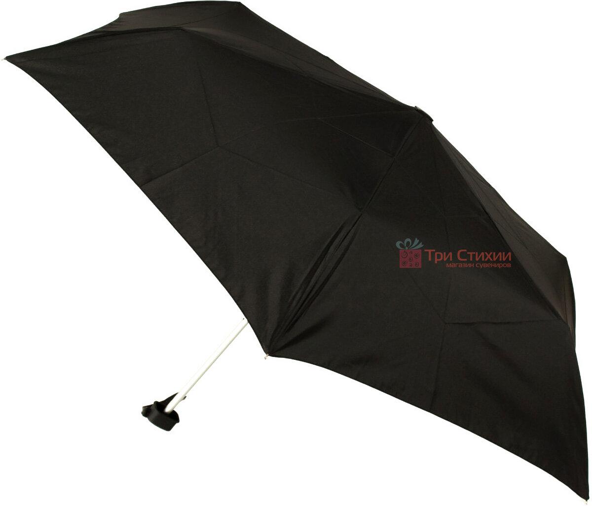 Зонт складной Fulton Ultralite-1 L349 механический  Черный (L349-000410), фото