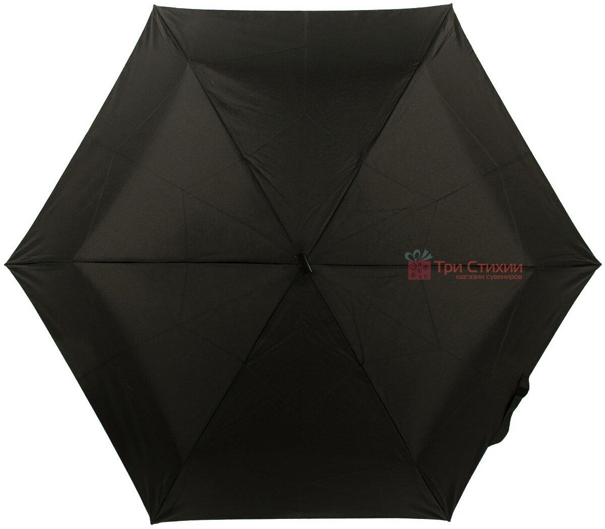 Зонт складной Fulton Ultralite-1 L349 механический  Черный (L349-000410), фото 2