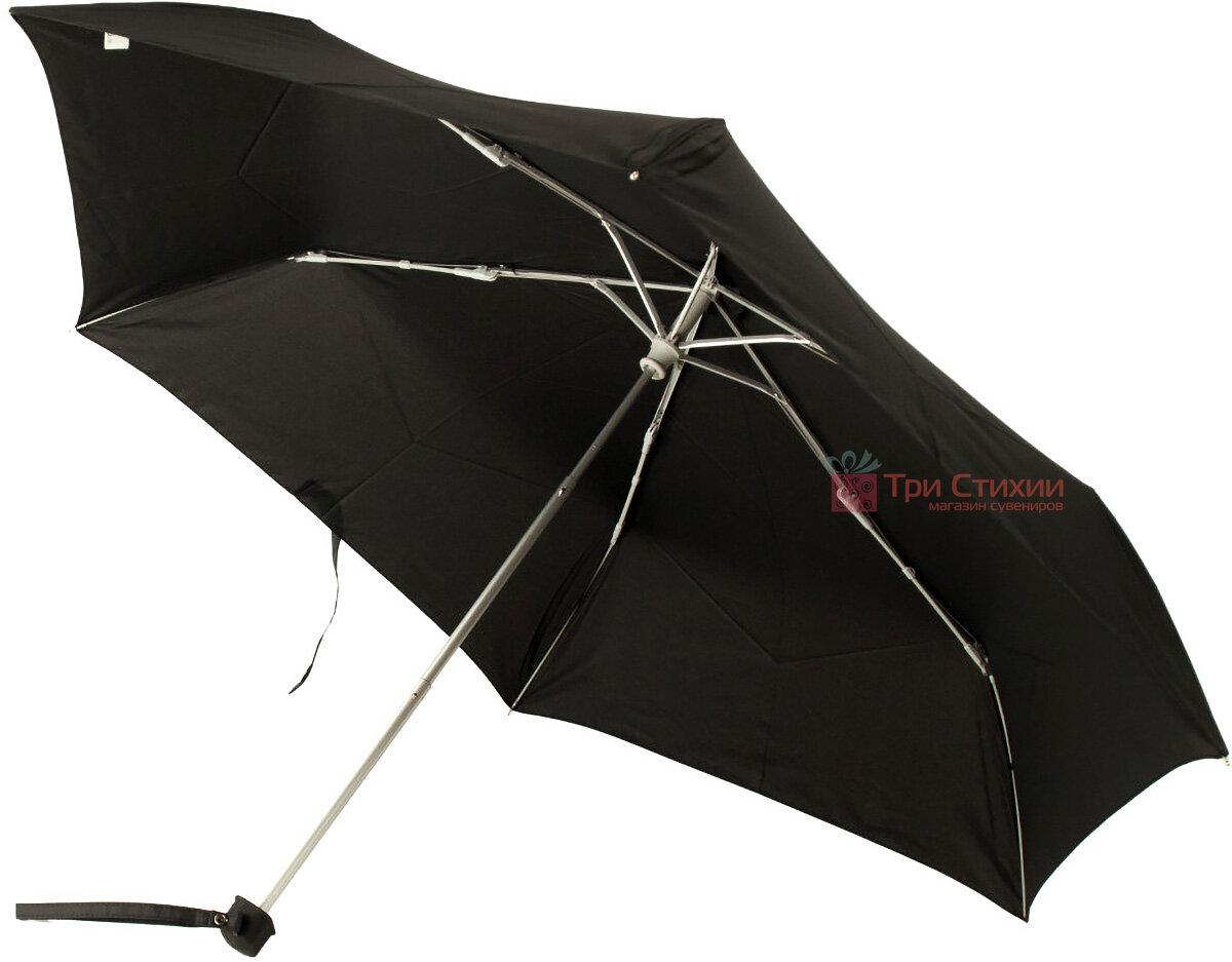 Зонт складной Fulton Ultralite-1 L349 механический  Черный (L349-000410), фото 3