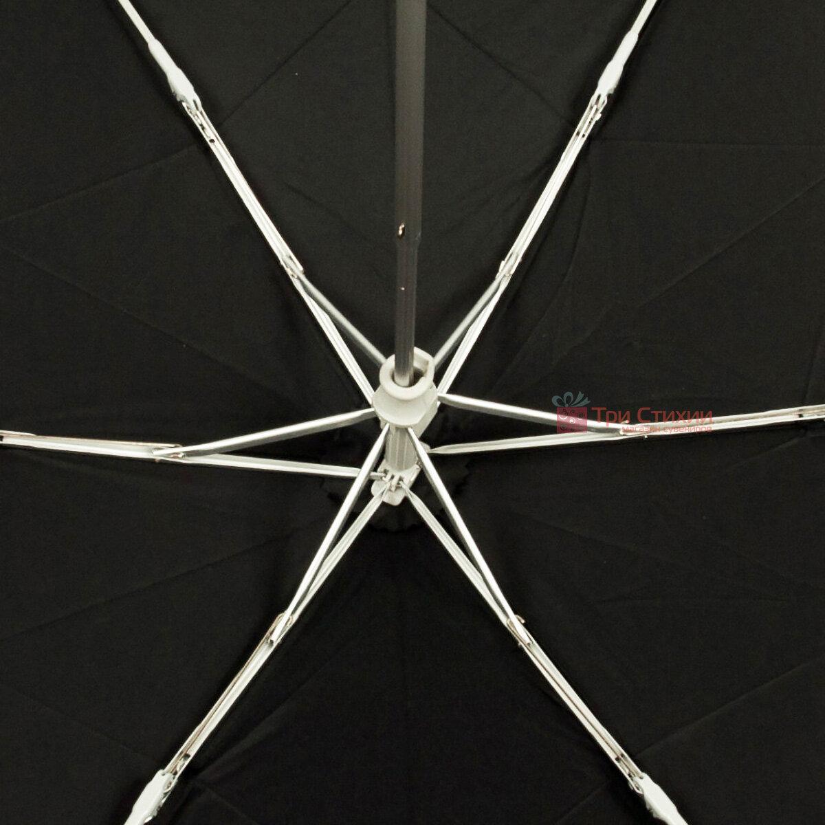 Зонт складной Fulton Ultralite-1 L349 механический  Черный (L349-000410), фото 6