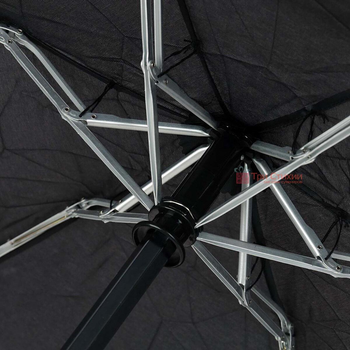 Парасоля складана Fulton Open & Close-101 L369 - Black (Чорна), фото 4