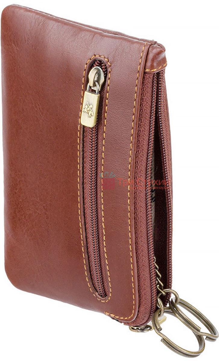 Ключница Visconti MZ19 Geno (Italian Brown) кожаная Коричневая, фото 2