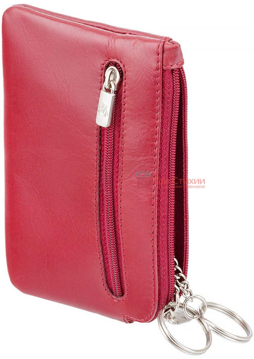 Ключница Visconti MZ19 Geno (Italian Red) кожаная Красная, Цвет: Красный, фото 2