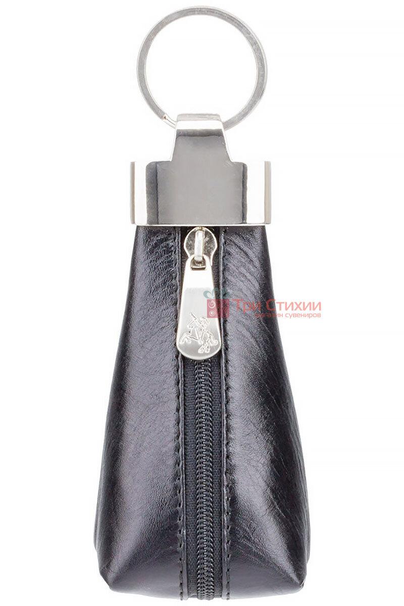 Ключница Visconti MZ20 Verona (Italian Black) кожаная Черная, Цвет: Черный, фото