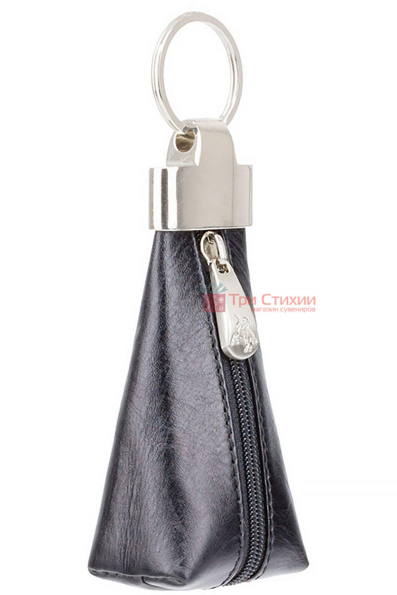 Ключница Visconti MZ20 Verona (Italian Black) кожаная Черная, Цвет: Черный, фото 2