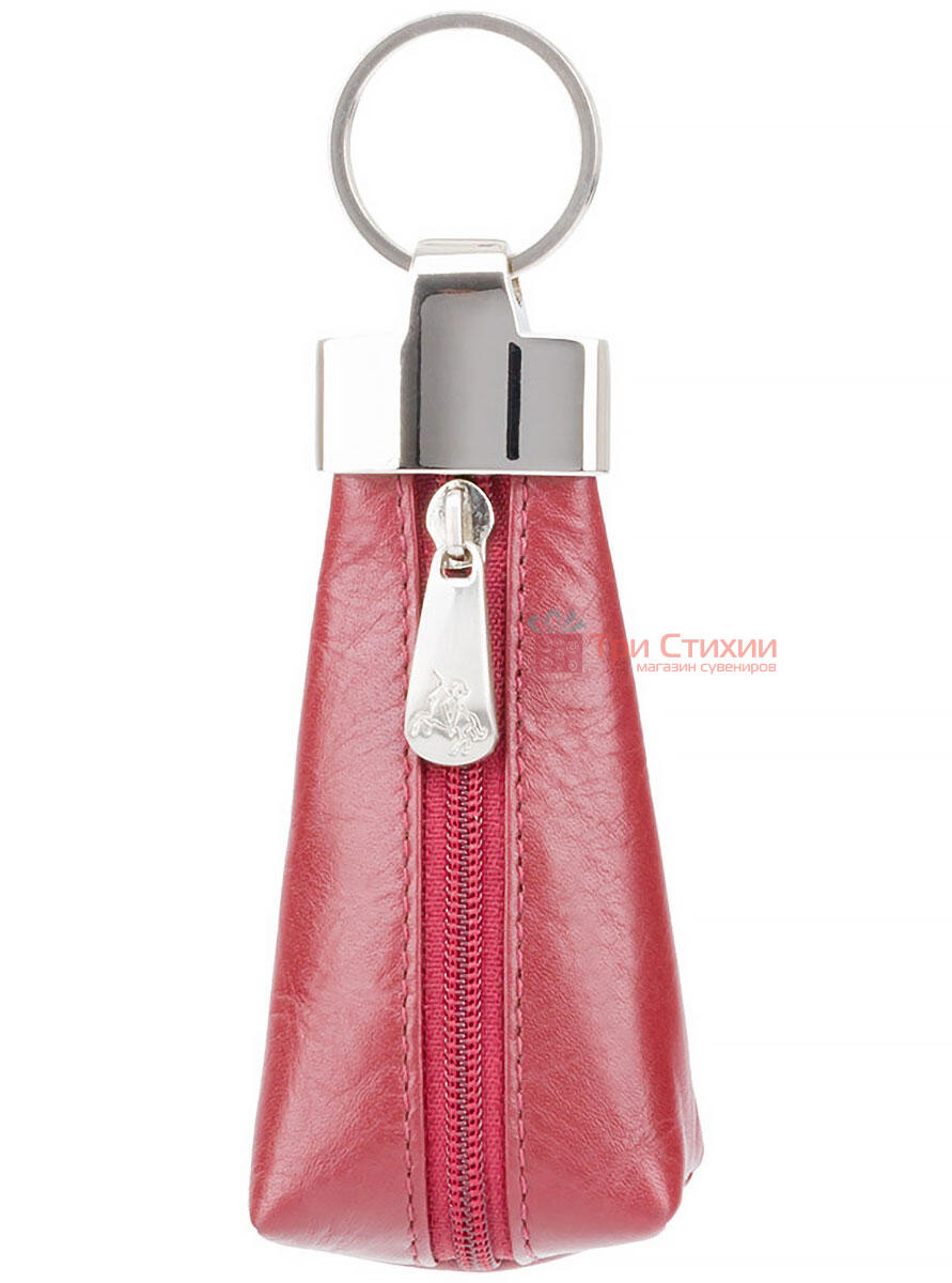 Ключница Visconti MZ20 Verona (Italian Red) кожаная Красная, Цвет: Красный, фото