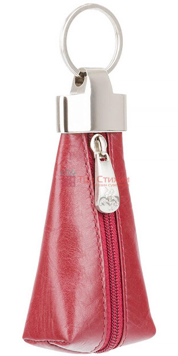 Ключница Visconti MZ20 Verona (Italian Red) кожаная Красная, Цвет: Красный, фото 2