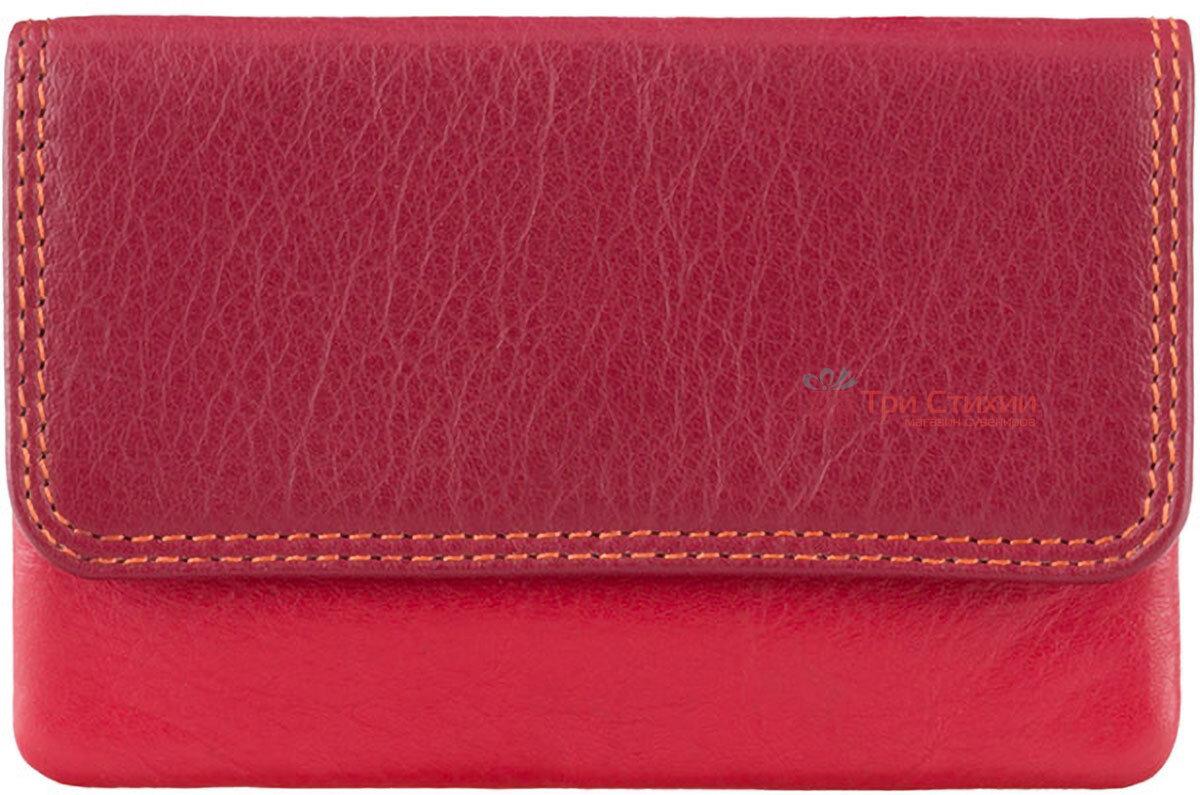 Ключница Visconti RB99 Tahiti (Red Multi) кожаная Красная, фото 3