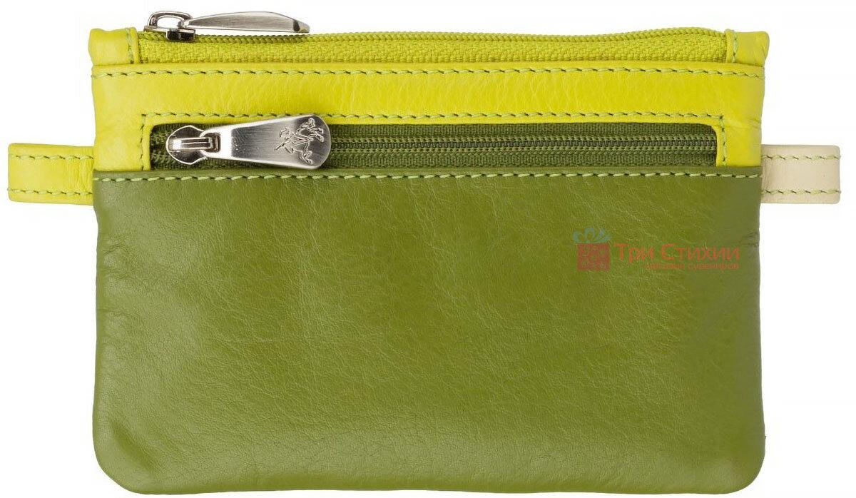 Ключница Visconti CP2 Cora (Lime Multi) кожаная Салатовая, Цвет: Салатовый, фото 2