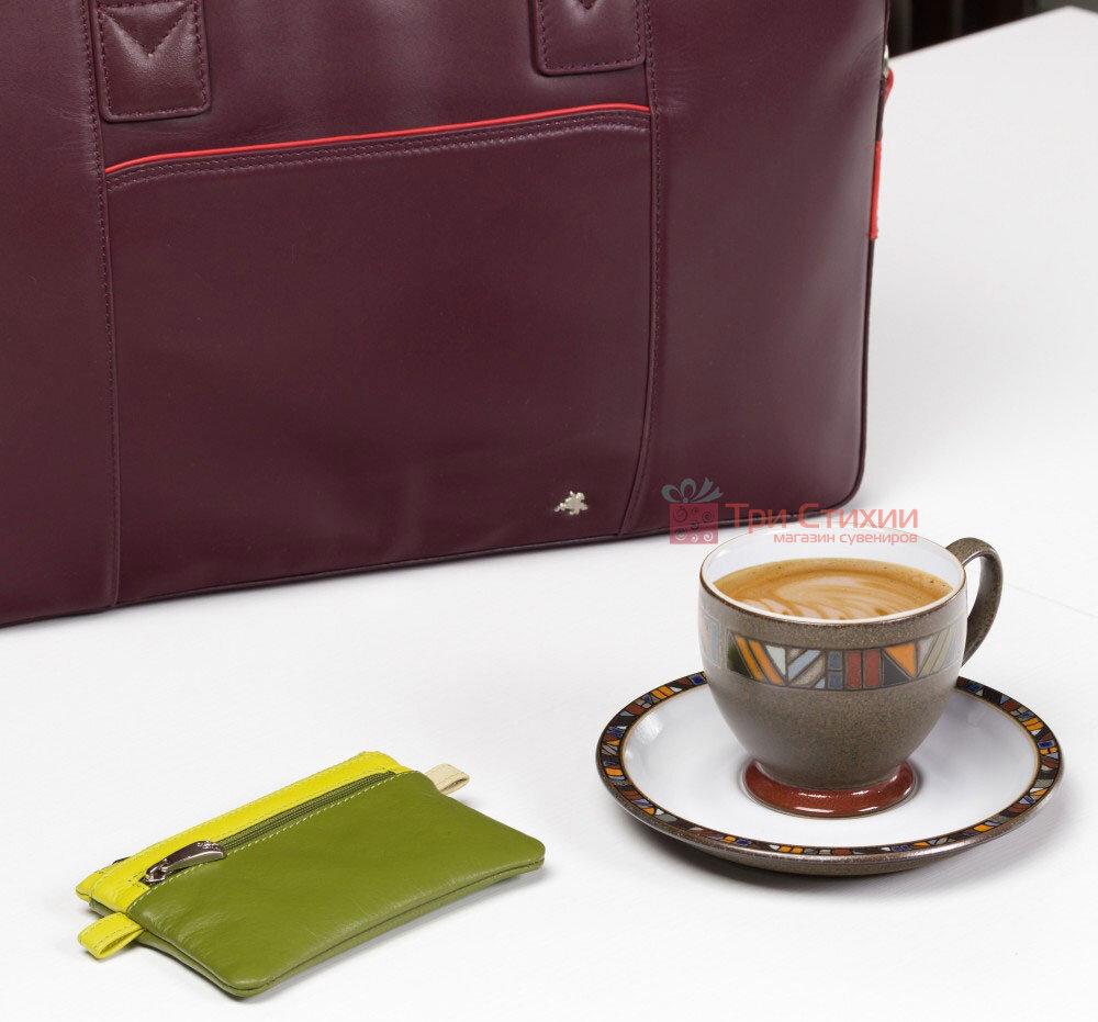 Ключница Visconti CP2 Cora (Lime Multi) кожаная Салатовая, Цвет: Салатовый, фото 5
