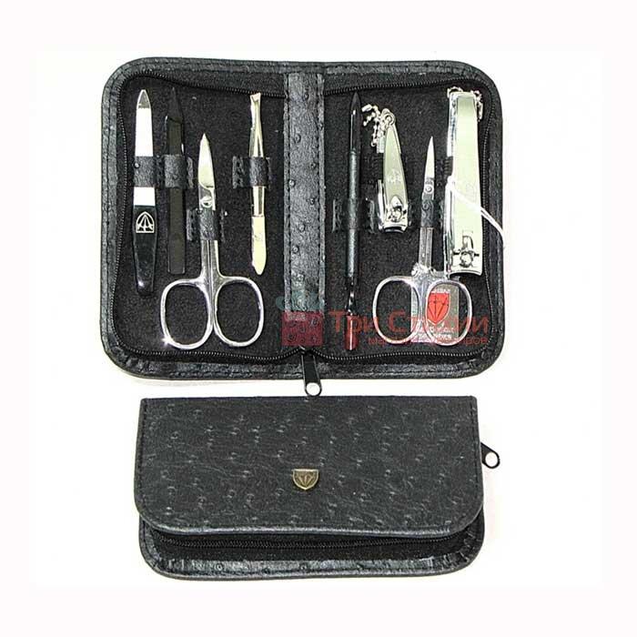 Маникюрный набор Kellermann 8 предметов 5220, Цвет: Черный, фото