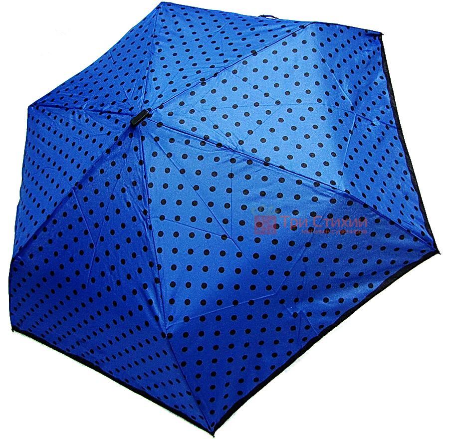 Зонт складной Derby 722565PD-3 механический Синий, фото