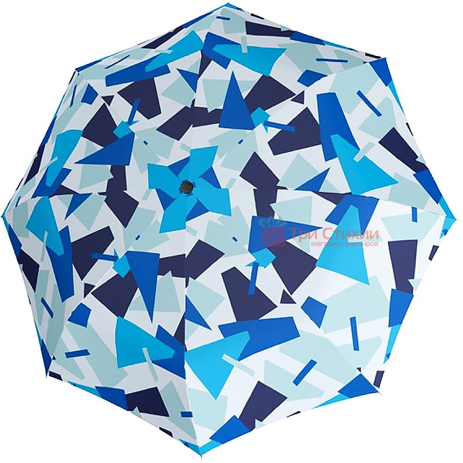 Зонт складной Doppler 7441465CR02 полный автомат Голубой, фото