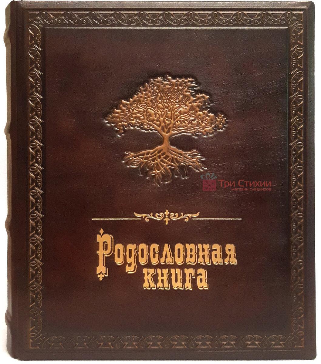 Родословная книга Макей кожаная (620-07-07) Коричневая, фото