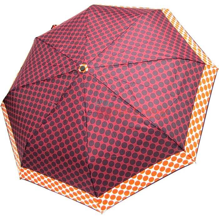 Зонт складной Derby 7440265PA-3 полный автомат Бордовый, фото