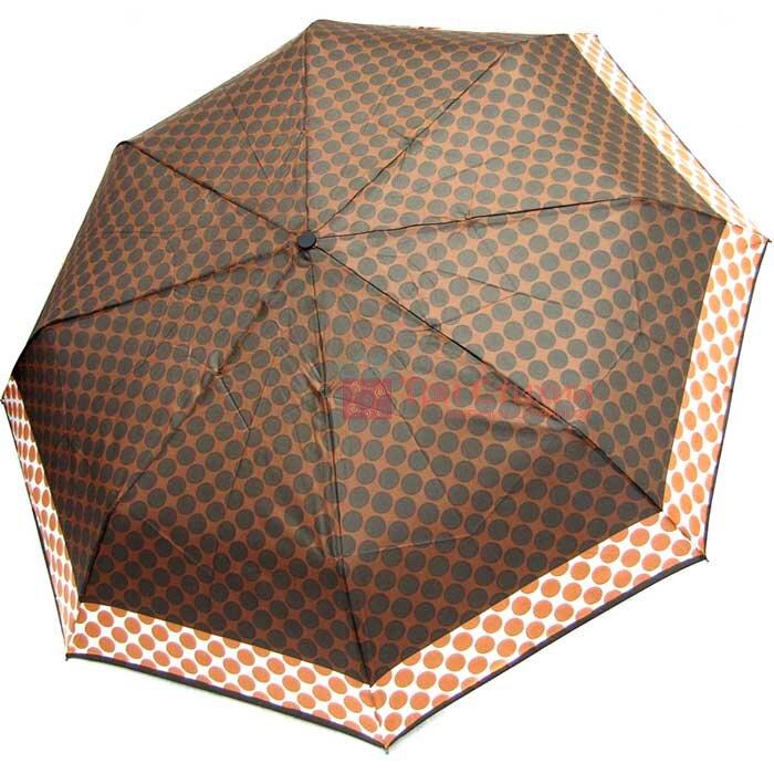 Зонт складной Derby 7440265PA-4 полный автомат Коричневый, фото
