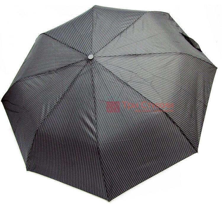 Зонт мужской автомат Derby 7440267P-3 Серый в полоску, фото