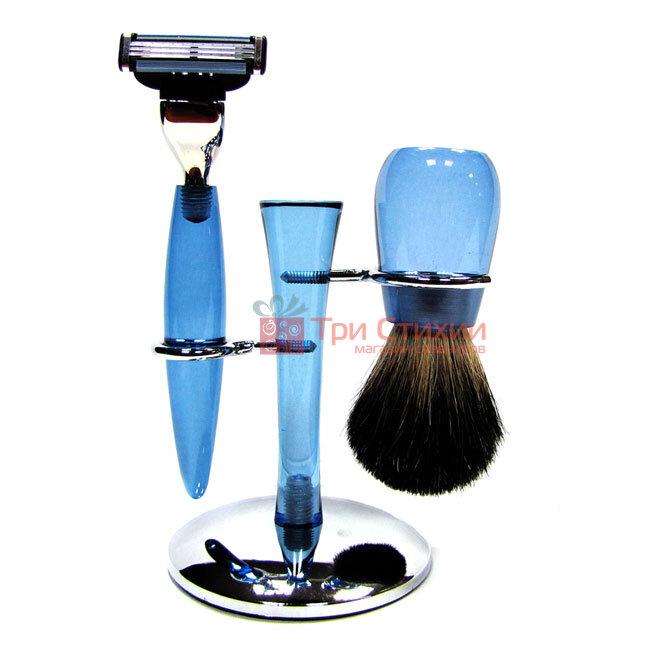 Набір для гоління Hans Baier 75134 Блакитний, Колір: Блакитний, фото