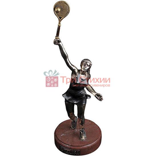 Статуетка з бронзи «Тенісистка» Vizuri (Візурі) S04, фото