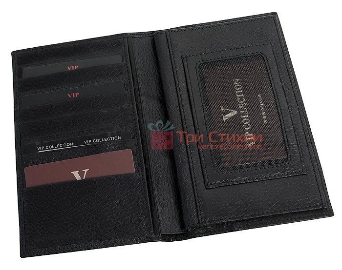 Портмоне чоловіче Vip Collection 61.A.FLAT Чорне, фото 2