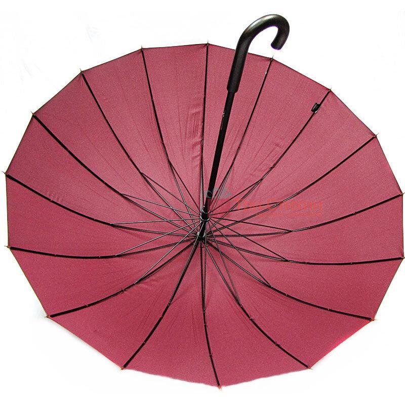 Зонт-трость Doppler London 74163DWR механика Бордо, Цвет: Бордовый, фото 2