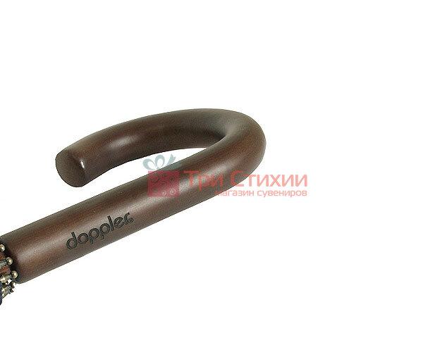 Зонт-трость Doppler London 74166 механика Черный, фото 5