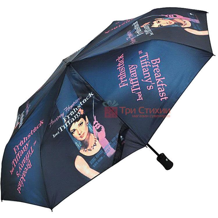 Зонт складной Doppler Тифани 74457C автомат Синий, фото
