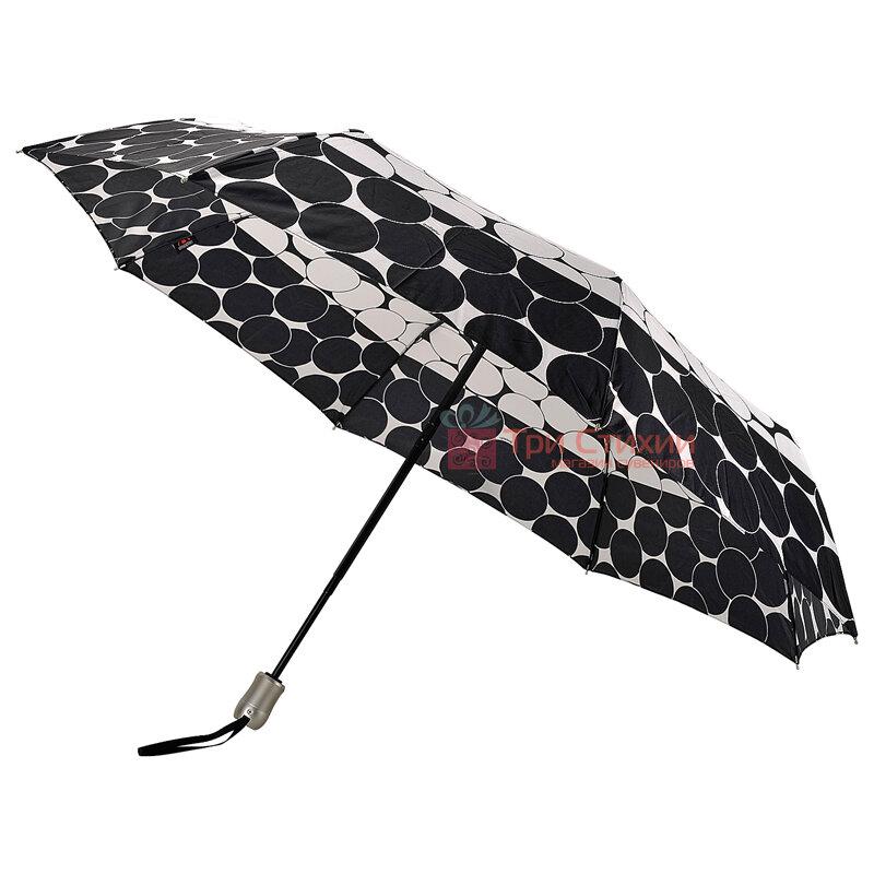Зонт складной Doppler Satin 74665GFGGZ-5 полный автомат Черный кант, Цвет: Черный, фото 3