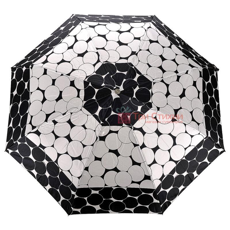 Зонт складной Doppler Satin 74665GFGGZ-5 полный автомат Черный кант, Цвет: Черный, фото 4