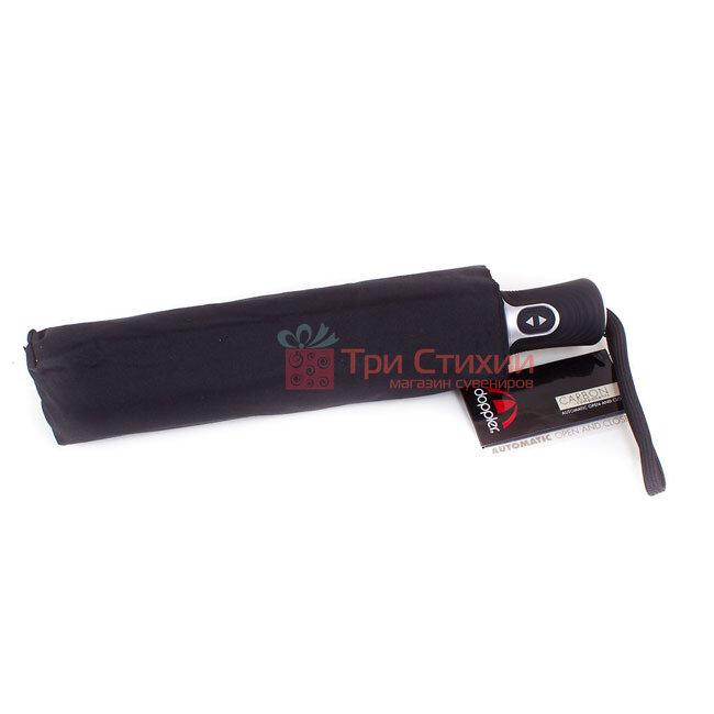 Зонт складной Doppler 746966FGB автомат Черный, фото 4