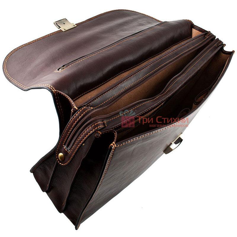Портфель Tony Perotti Italico 8011-44-it Коричневый, Цвет: Коричневый, фото 5