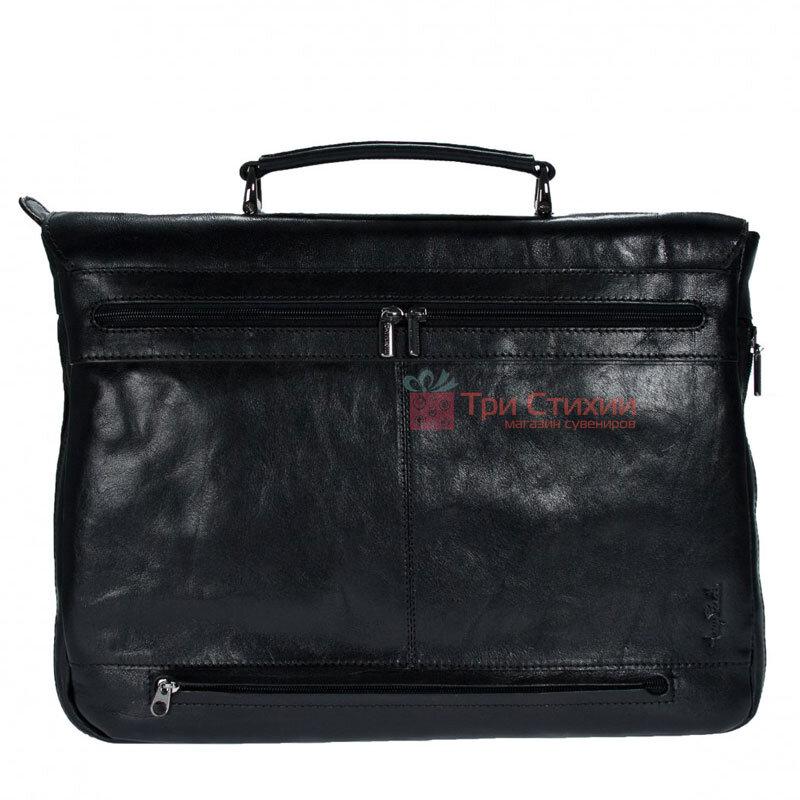 Портфель Tony Perotti Italico 9338-it nero Чёрный, Цвет: Черный, фото 3