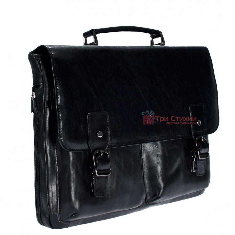 Портфель Tony Perotti Italico 9338-it nero Чёрный, Цвет: Черный, фото 4