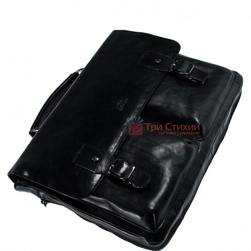 Портфель Tony Perotti Italico 9338-it nero Чёрный, Цвет: Черный, фото 5