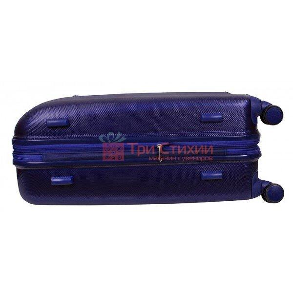 Валіза Vip Collection G.24 середня на 4-х колесах Синя, Колір: Синій, фото 10