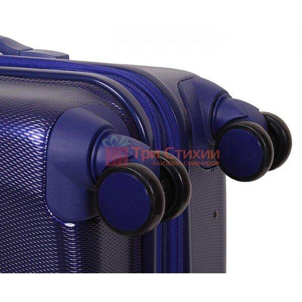 Чемодан Vip Collection Galaxy G.28 Большой на 4-х колесах Синий, Цвет: Синий, фото 9