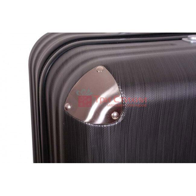 Чемодан Vip Collection Mont Blanc MB.20 малый на 4-х колесах Серый, Цвет: Серый, фото 6