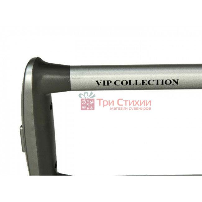 Валіза Vip Collection Mont Blanc MB.20 мала Срібляста, Колір: Сріблястий, фото 4