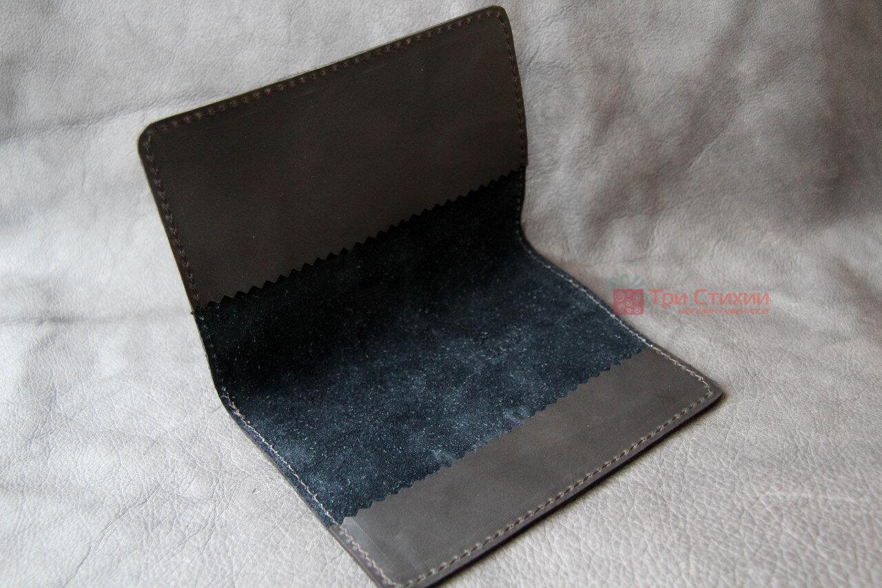 Обложка для паспорта кожаная 809-52-07, фото 4