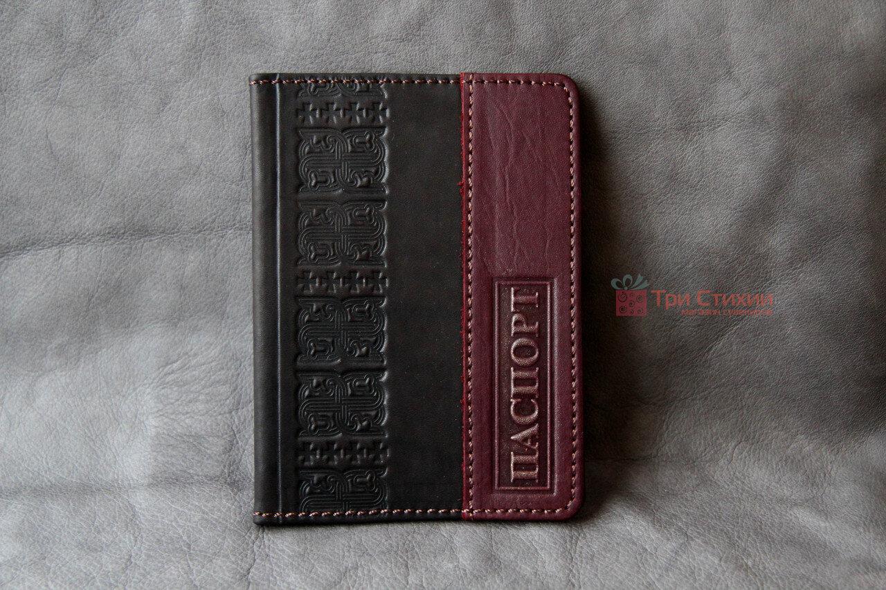Обложка для паспорта кожаная 809-32-07, фото 6