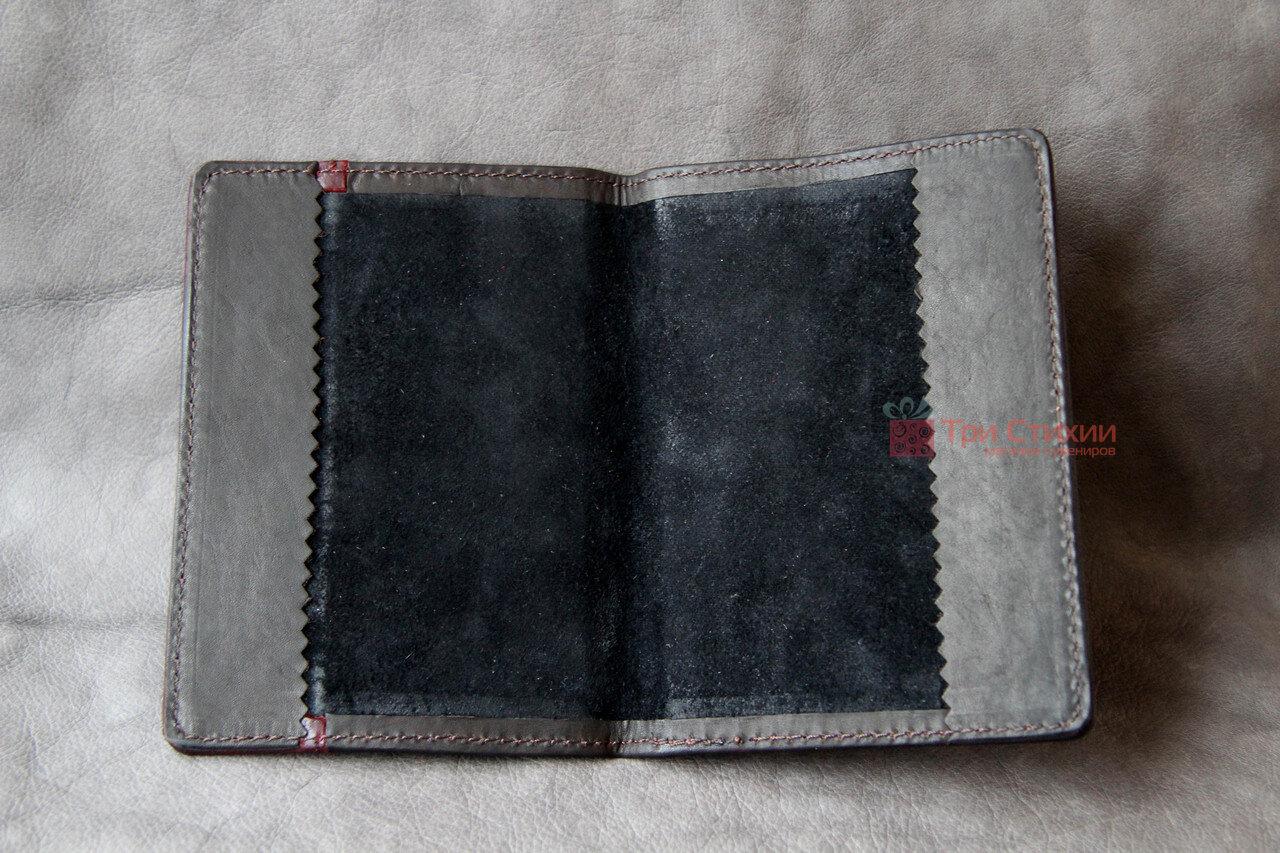 Обложка для паспорта кожаная 809-32-07, фото 8