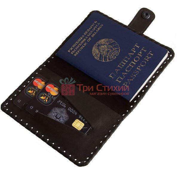 Обложка для паспорта Арт Кажан коллекция Лабиринт (709-14-12), фото 3