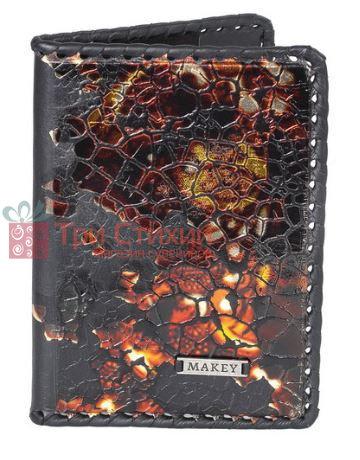Обложка для паспорта кожаная Феникс Макей 509-11-06, фото