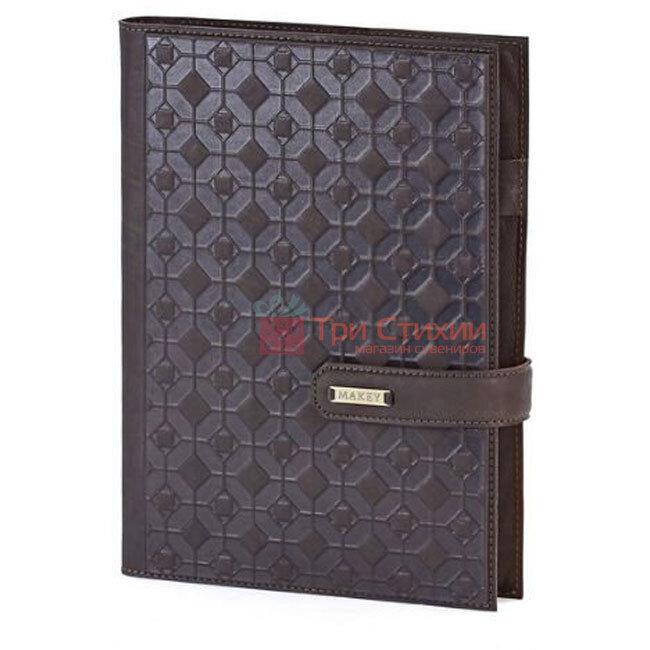 Кожаный ежедневник формат А5 Соты Макей (508-08-03), фото