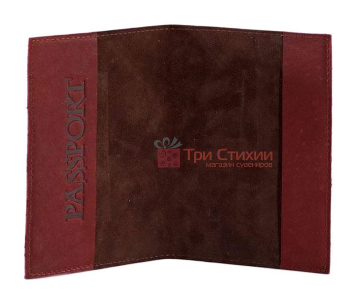 "Обкладинка для паспорта ""Medieval"" (натуральна шкіра) 509-07-06, фото 2"