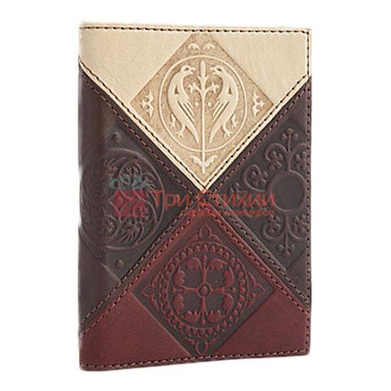 "Обкладинка для паспорта ""Medieval"" (натуральна шкіра) 509-07-06, фото 3"