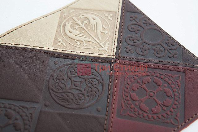 "Обкладинка для паспорта ""Medieval"" (натуральна шкіра) 509-07-06, фото 4"