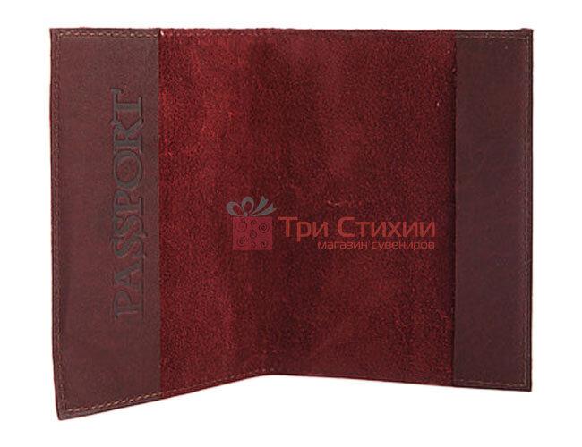 "Обкладинка для паспорта ""Medieval"" (натуральна шкіра) 509-07-06, фото 5"
