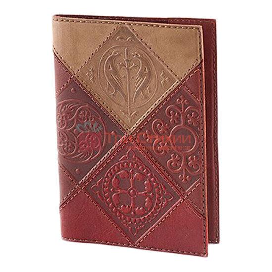 "Обкладинка для паспорта ""Medieval"" (натуральна шкіра) 509-07-06, фото 6"