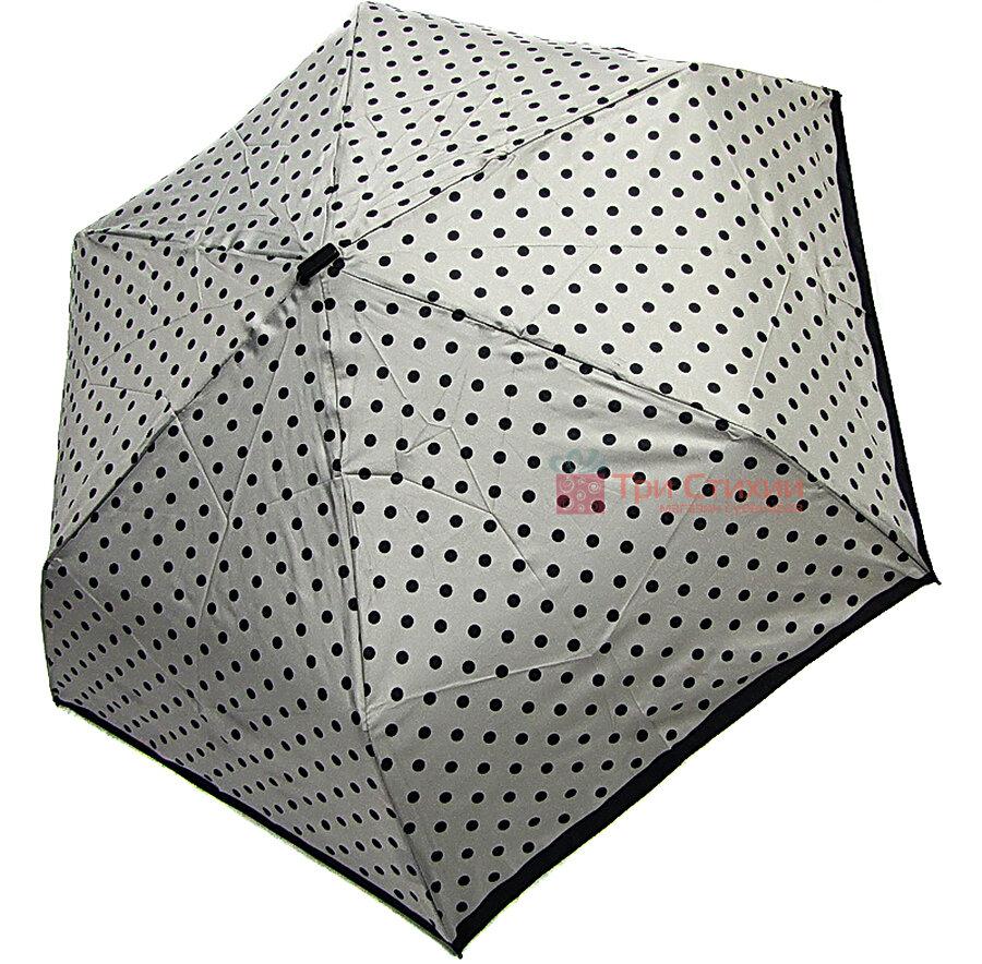 Зонт складной Derby 722565PD-2 механический Серый, фото